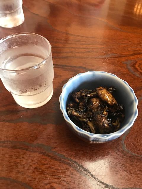 橋本食堂,うなぎの肝