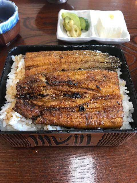 橋本食堂,鰻重
