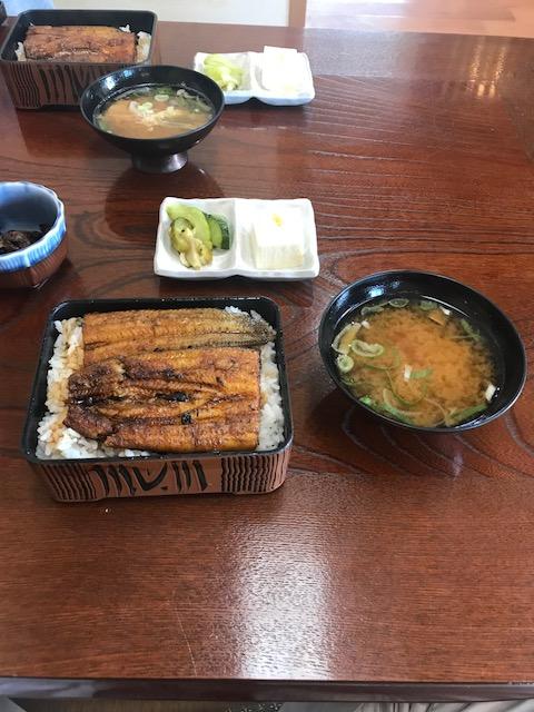 橋本食堂,うな重並大盛