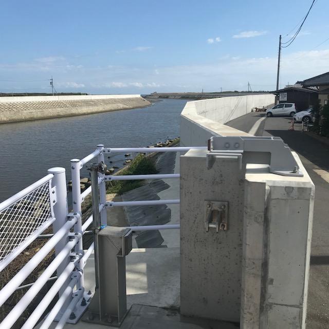 橋本食堂,木戸川,津波