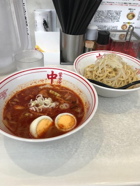 蒙古タンメン,中本船橋店,つけ麺