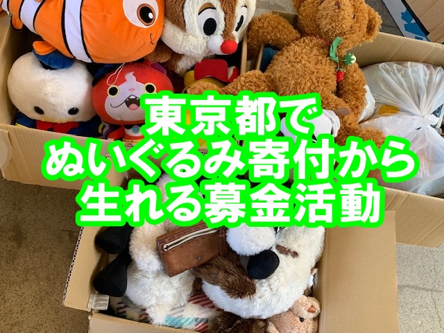 東京 ぬいぐるみ寄付