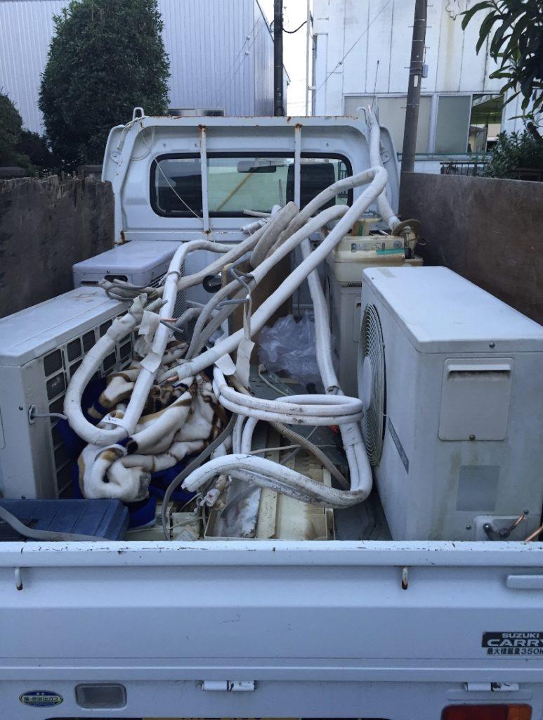 軽トラック 積み放題 写真