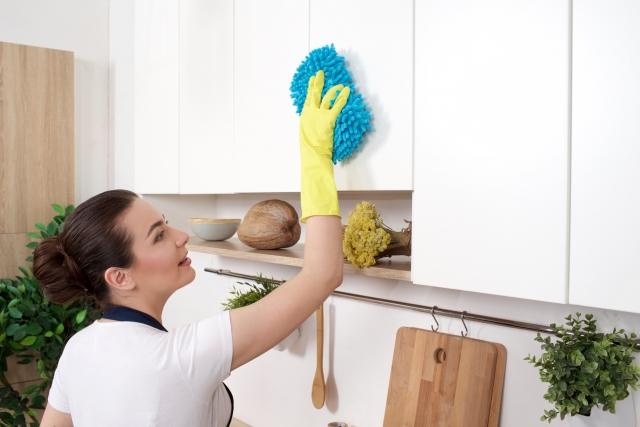 食器棚 掃除