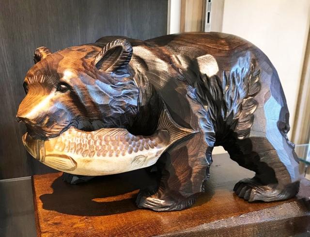 熊の置物 買取