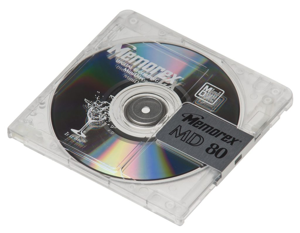 MDディスク 捨て方 処分方法