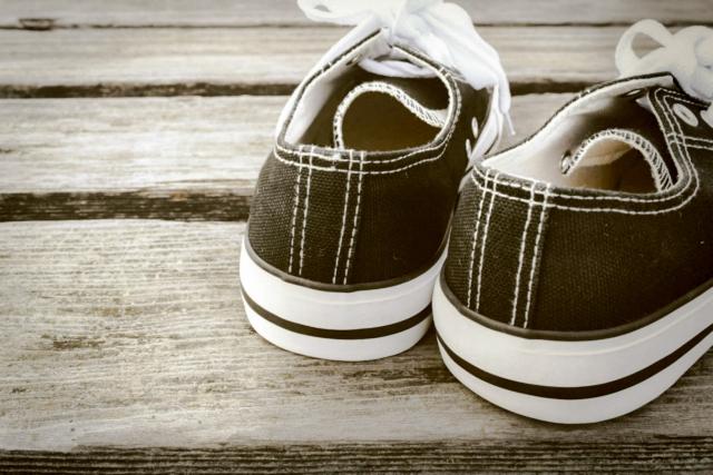 サイズが合わない靴