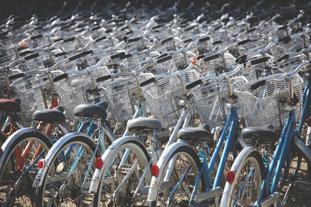 自転車 寄付