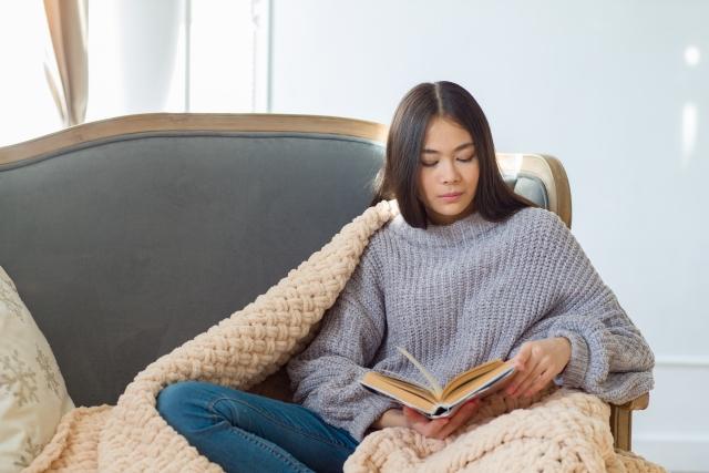 暇 本を読む