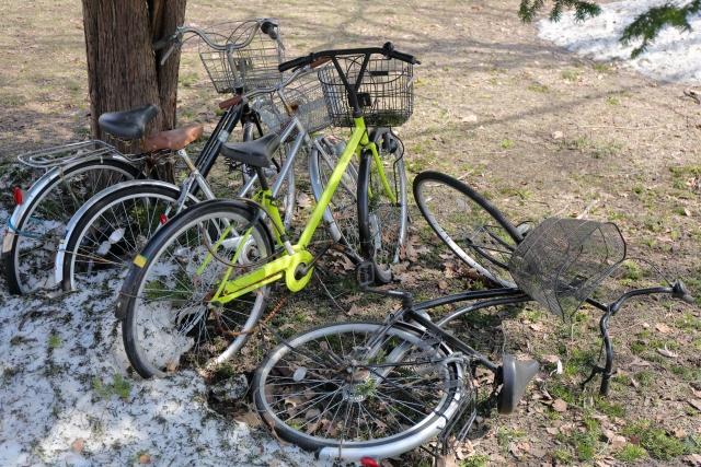 放置自転車 処分方法